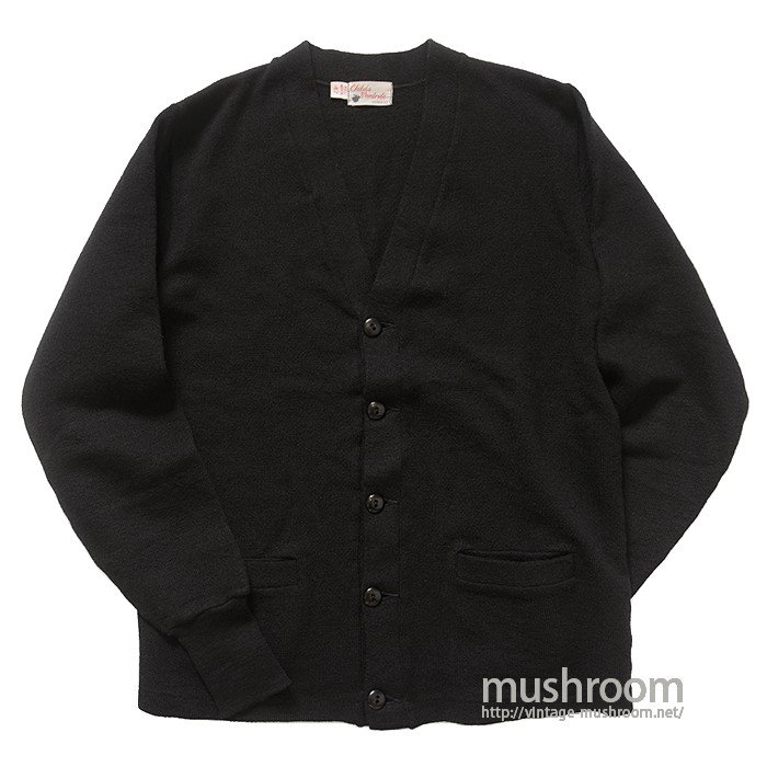 OLD BLACK WOOL CARDIGAN