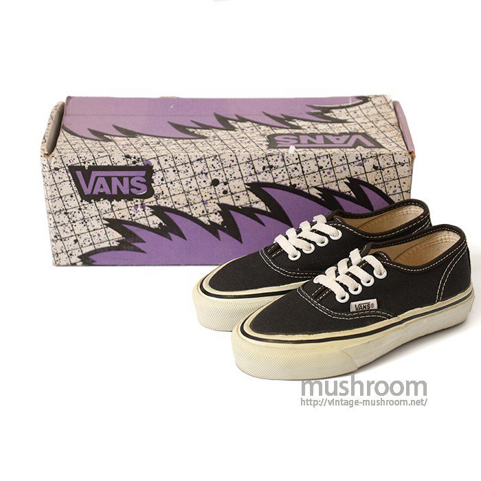 VANS  CANVAS SHOES( DEADSTOCK )