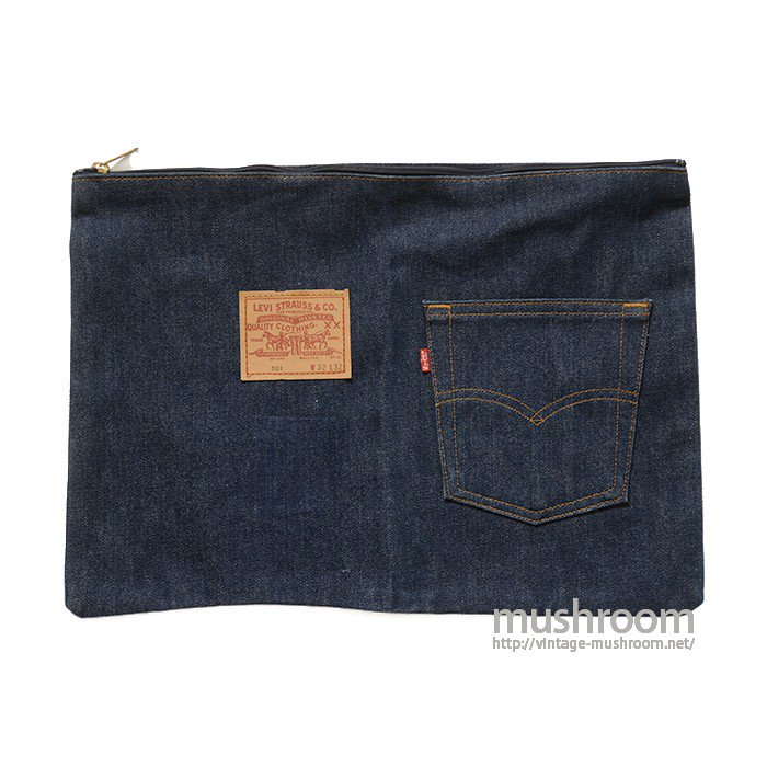 LEVI'S DENIM CLUTCH BAG( MINT )