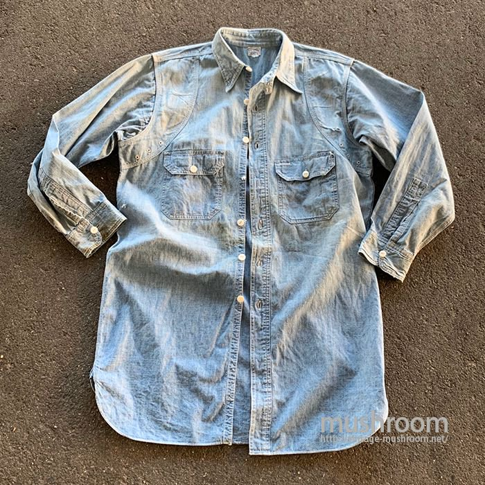 COMPASS CHAMBRAY WORK SHIRT