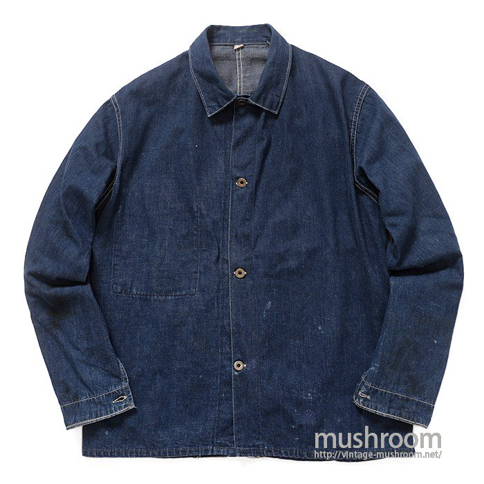 WW2 UNKNOWN DENIM COVERALL