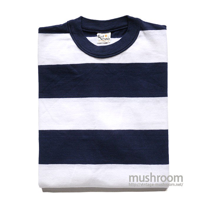 LORD CLAYTON WIDE BORDER STRIPE T-SHIRT( L/DEADSTOCK )