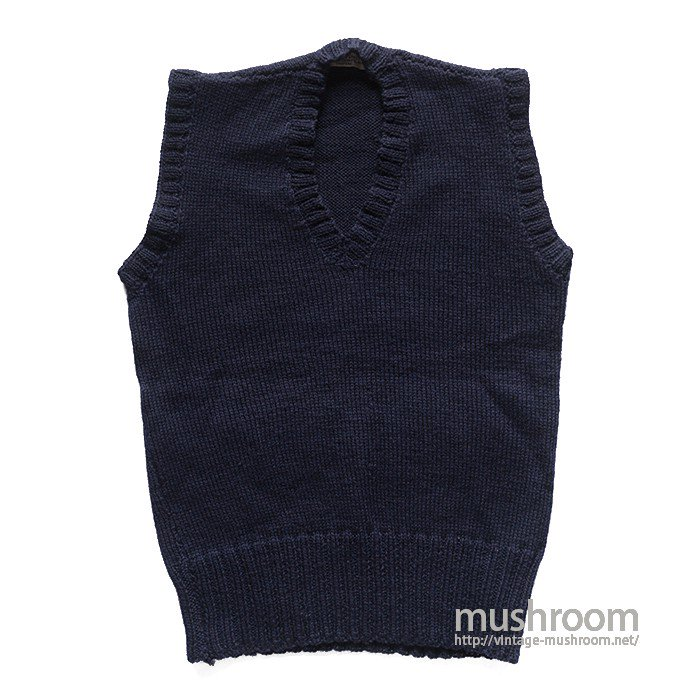 AMERICAN RED CROSS KNIT VEST( DEADSTOCK )