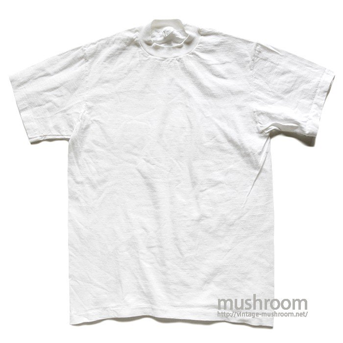 TOWNCRAFT WHITE PLAIN T-SHIRT( M/MINT )