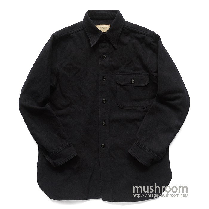 U.S.NAVAL CLOTHING FACTORY CPO WOOL SHIRT
