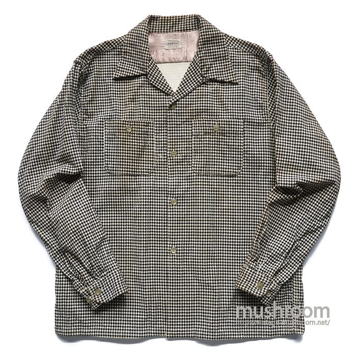 TOWNCRAFT PRINT CORDUROY BOX SHIRT( L/MINT )