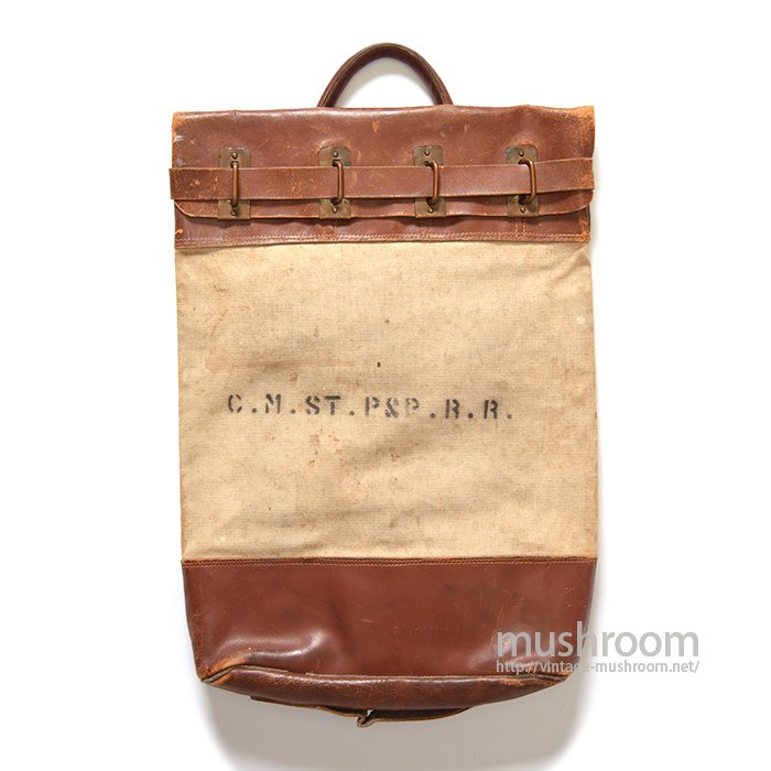 OLD MONEY CARRING CANVAS BAG