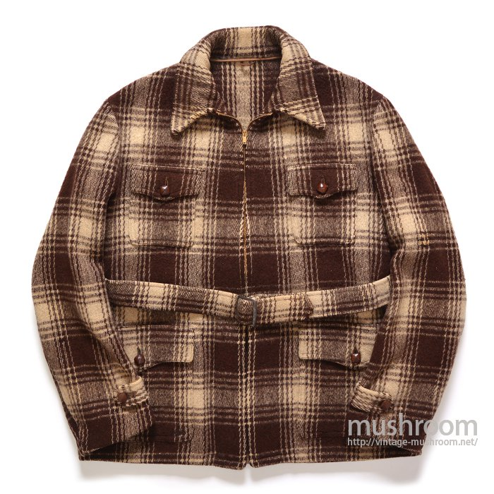 MONARCH PLAID WOOL SPORTS JACKET