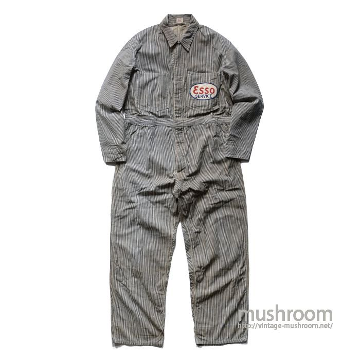 Lee UNION-ALLS HICKORY-STRIPE ALL IN ONE( 44/MINT )