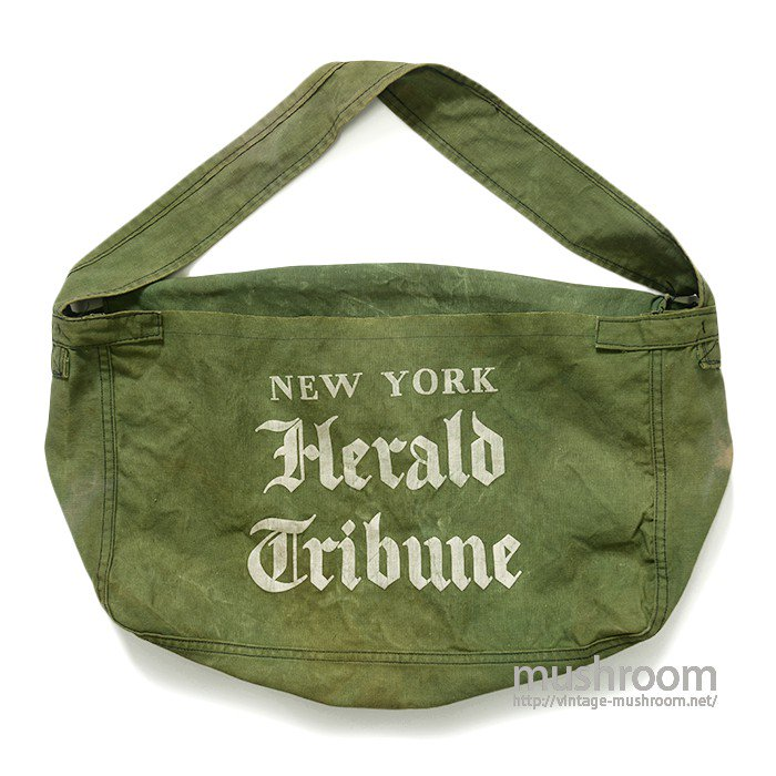 OLD NEWSPAPER CANVAS BAG