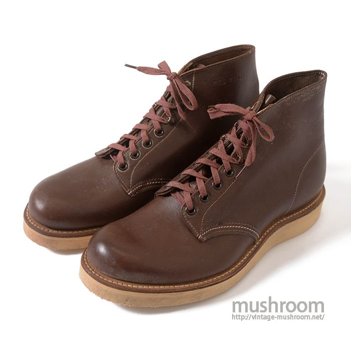RED WING WORK BOOTS( 7E/DEADSTOCK )
