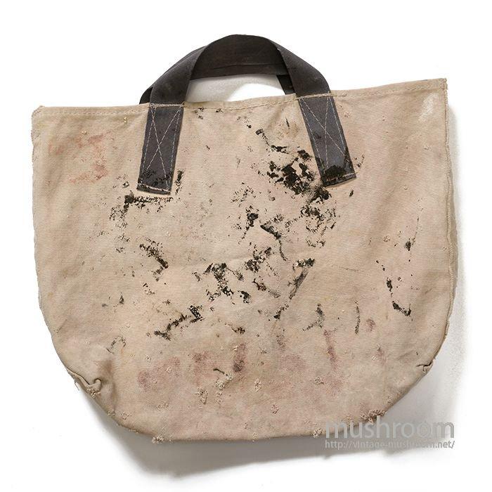 OLD CANVAS COAL BAG