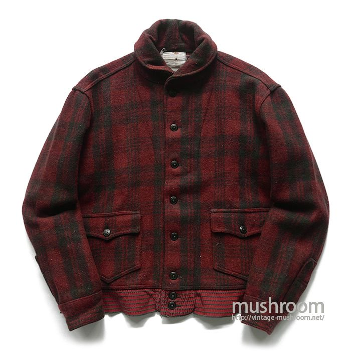 CCC A-1 STYLE PLAID WOOL JACKET