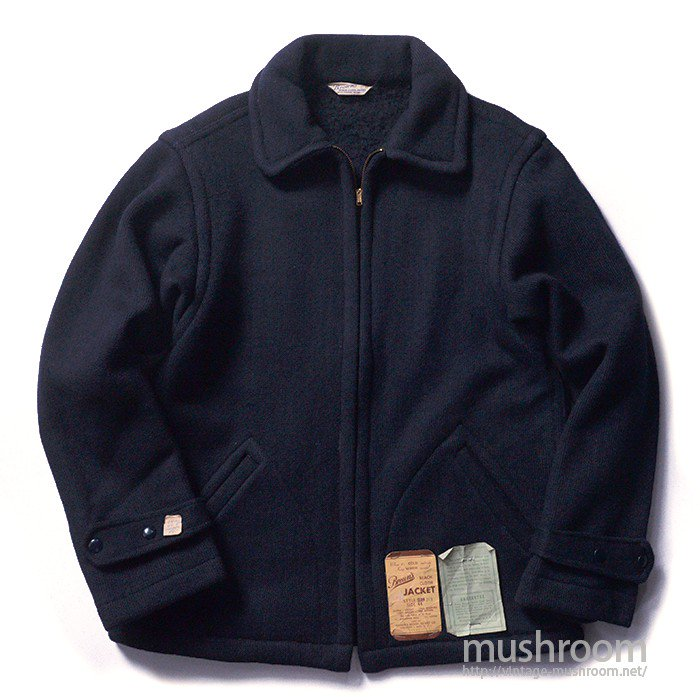 BROWN'S BEACH NAVY WOOL JACKET( 44/DEADSTOCK )