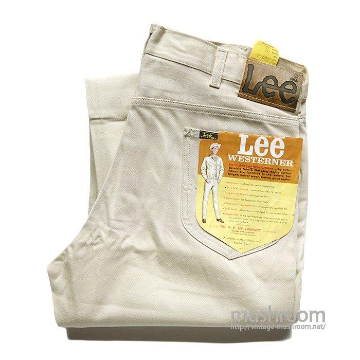 Lee WESTERNER COTTON PANTS( W36L30/DEADSTOCK )