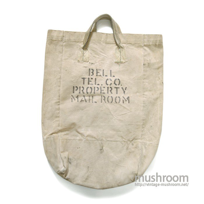 BELL TEL.CO CANVAS MAIL BAG