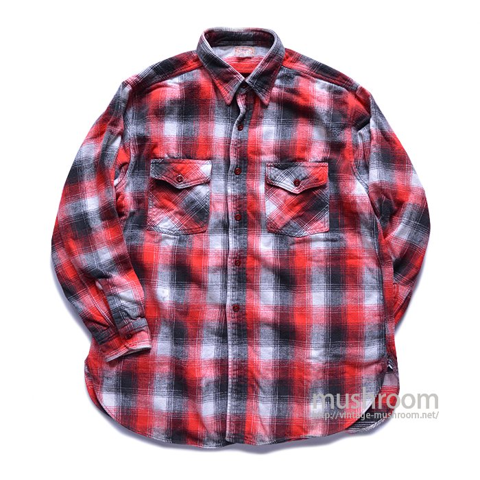 HEAD LIGHT PLAID FLANNEL SHIRT
