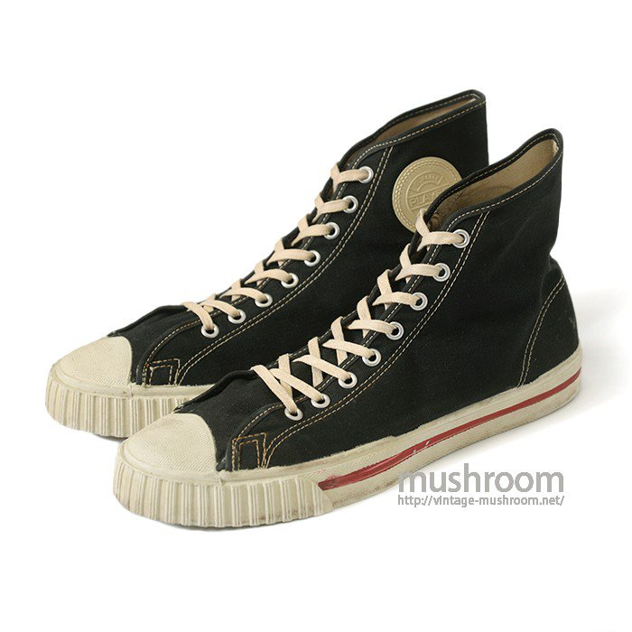 PLAYER LO BLACK CANVAS SHOES(9H/MINT)