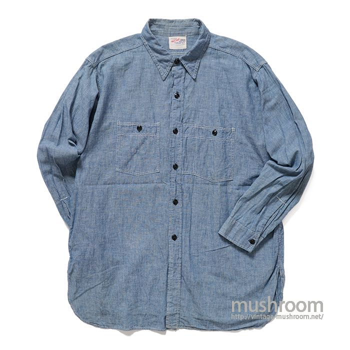NUFF STUFF CHAMBRAY WORK SHIRT