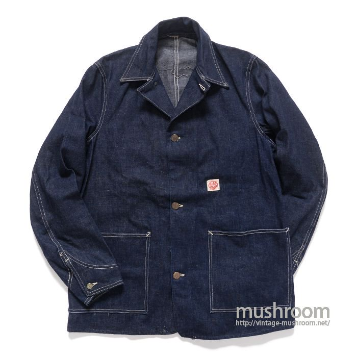 WW2 HEAD LIGHT DENIM COVERALL( MINT )