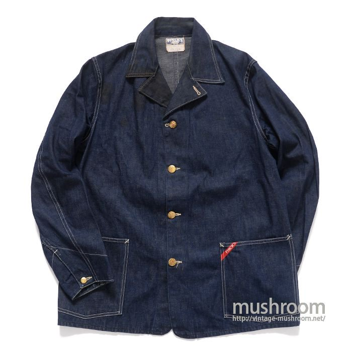 FINCK'S TWO-POCKET DENIM COVERALL( 40/MINT )