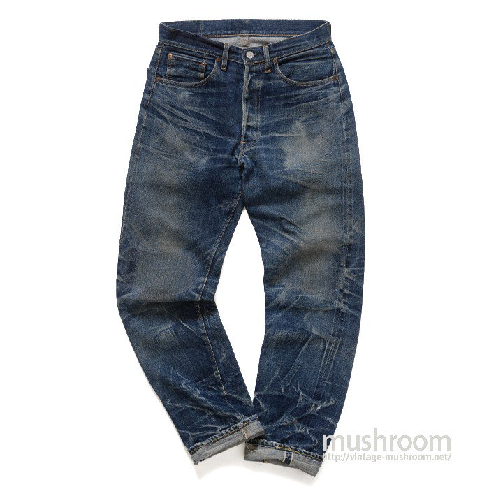 LEVIS 501 BIGE JEANS( SUPER TIGER STRIPE )