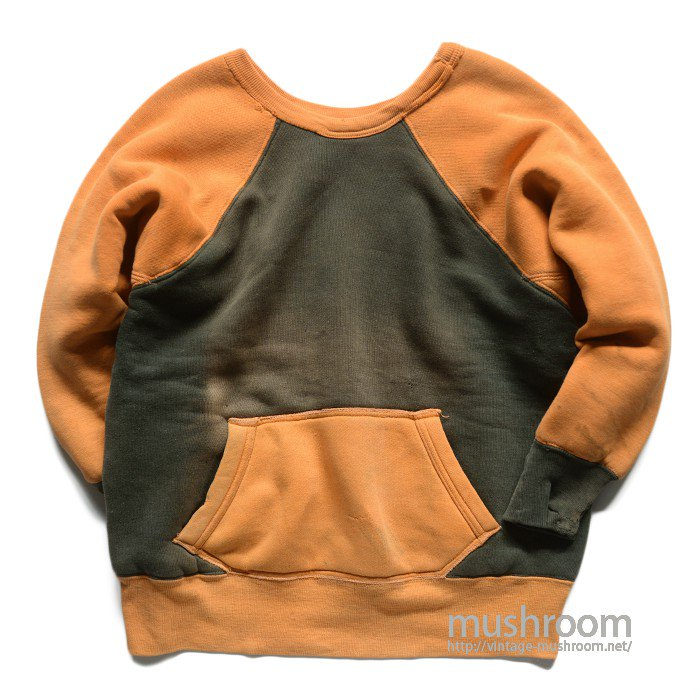 UNKNOWN TWO-TONE W/F SWEAT SHIRT