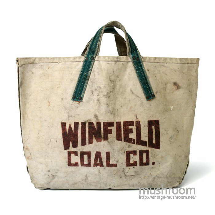 WINFIELD TWO-TONE CANVAS COAL BAG