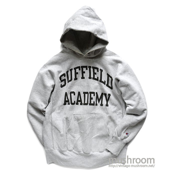 CHAMPION SUFFIELD ACADEMY REVERSE HOODY( L/MINT )
