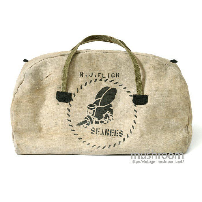 SEABEES CANVAS BAG