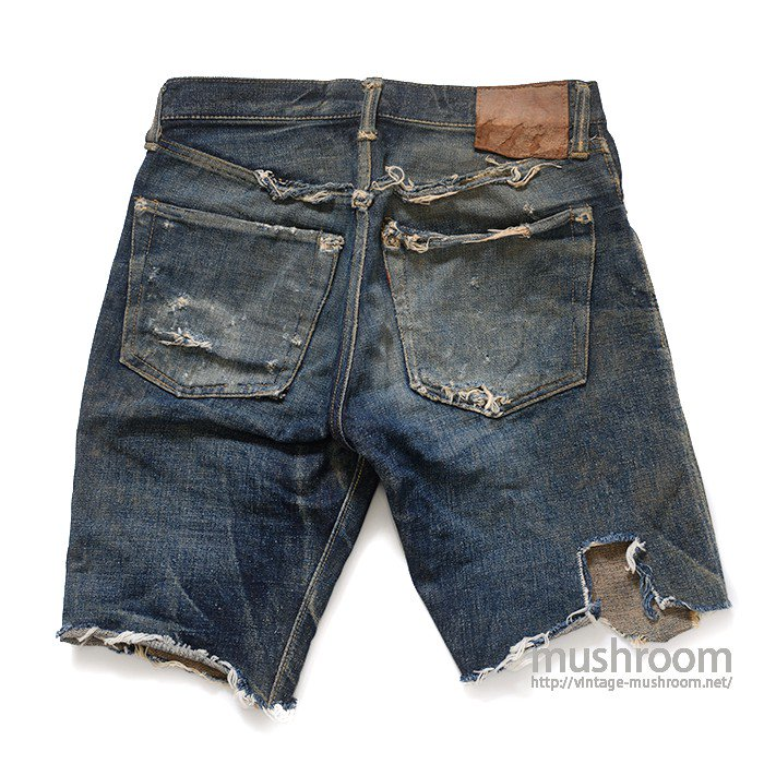 WW2 LEVI'S S501XX CUT OFF JEANS