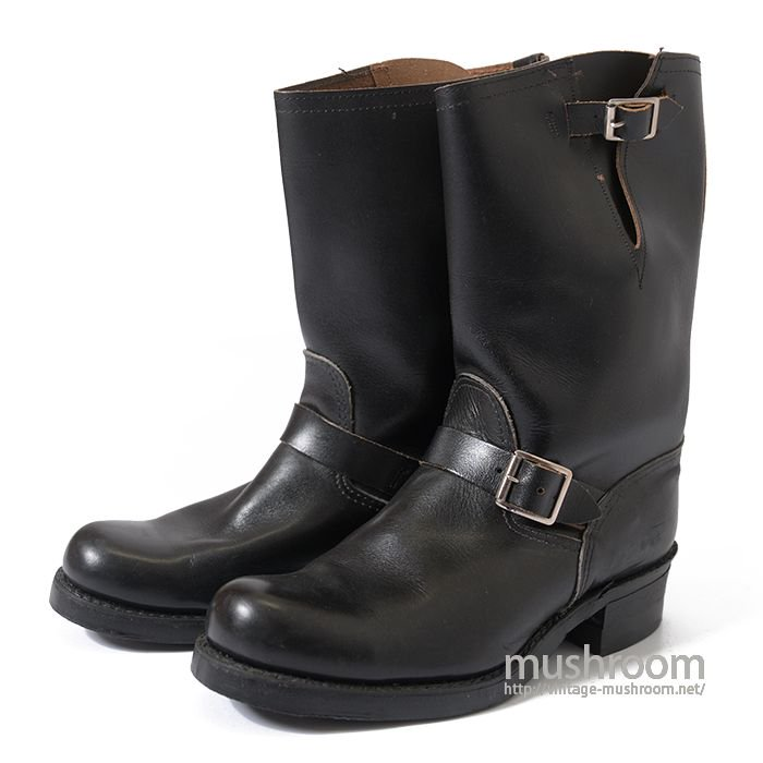 UNKNOWN OLD ENGINEER BOOTS( 9E/MINT )