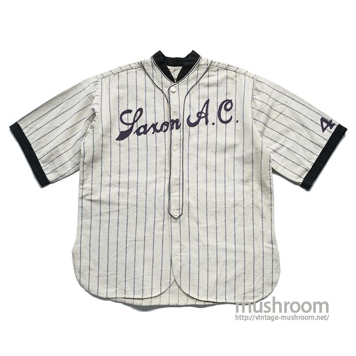 OLD TWO-TONE WOOL BASEBALL SHIRT