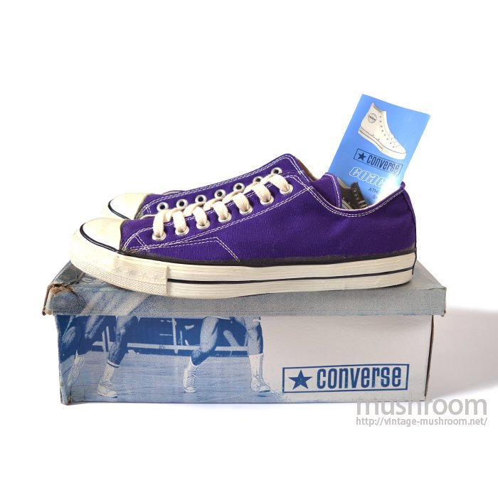 CONVERSE COACH LO CANVAS SHOE( PURPLE/DEADSTOCK )