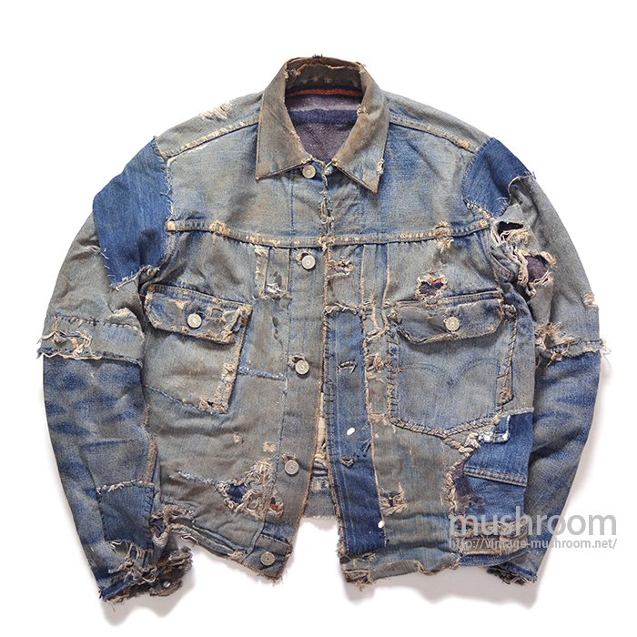 LEVI'S 517XX DENIM JACKET( HIPPIE STYLE )