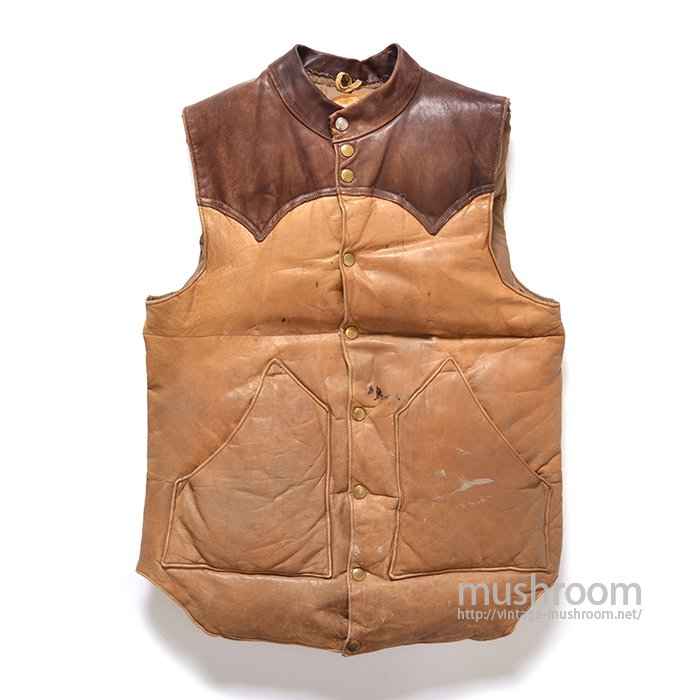 ROCKY MOUNTAIN LEATHER DOWN VEST
