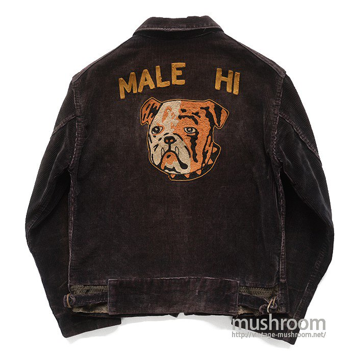 MALE HIGH SCHOOL CORDUROY SPORTS JACKET