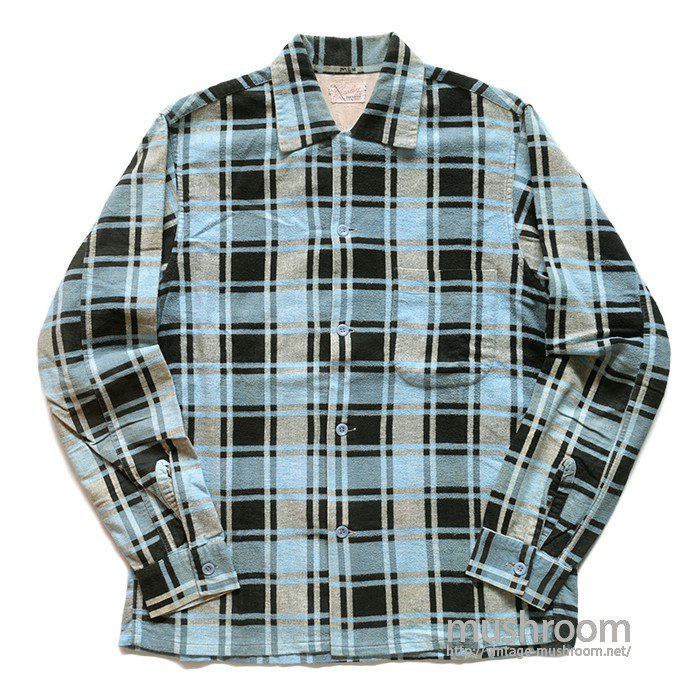 OLD PRINT FLANNEL SHIRT