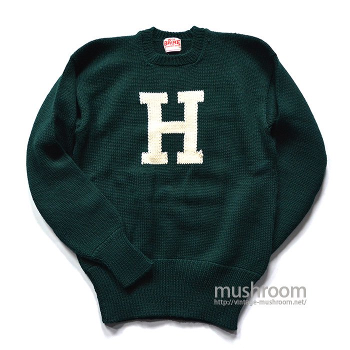 W.H.BRINE CO LETTERMAN SWEATER