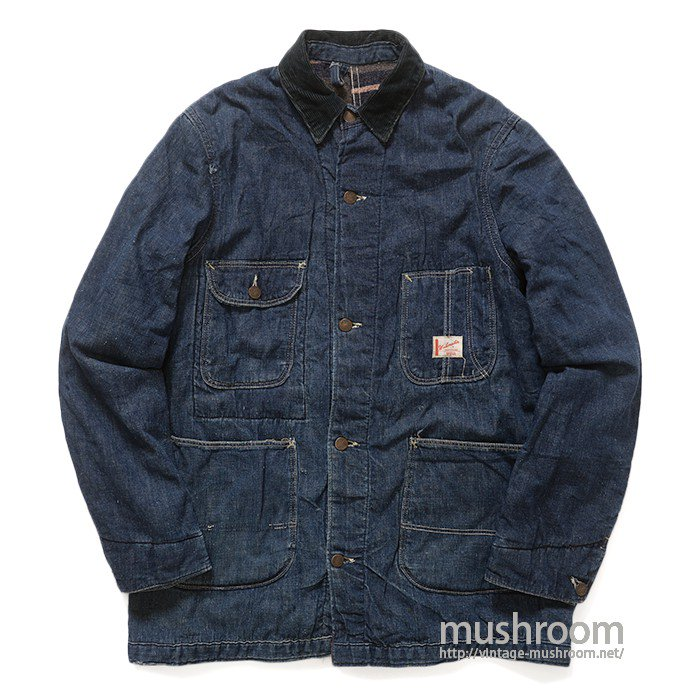 WORK MASTER DENIM COVERALL