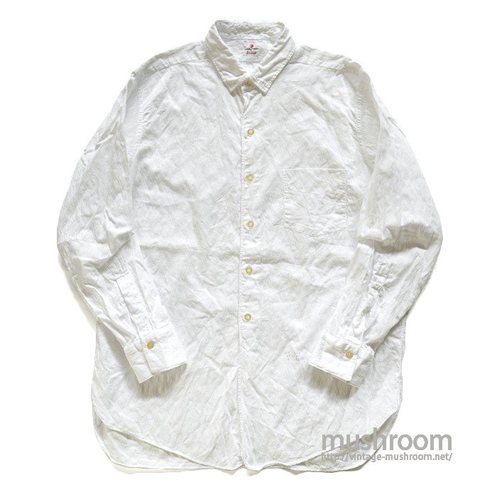 LION OF TROY WHITE COTTON SHIRT( 16-33/MINT )