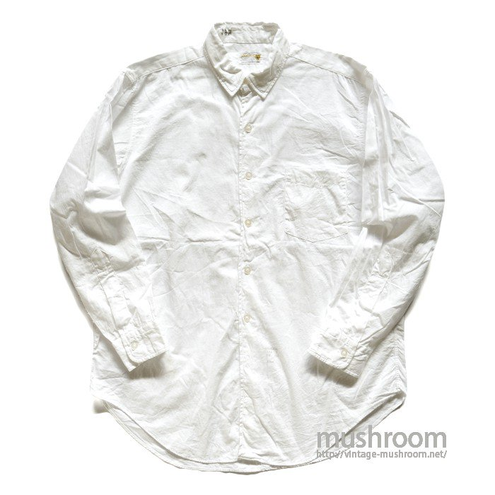 AMAREST WHITE COTTON SHIRT( 16-32/MINT )