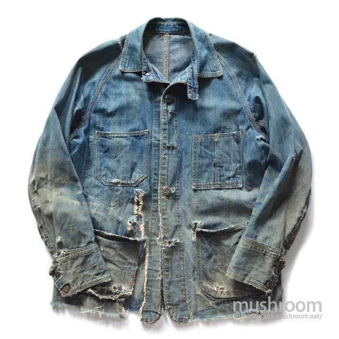 PAY DAY DENIM COVERALL With CHINSTRAP
