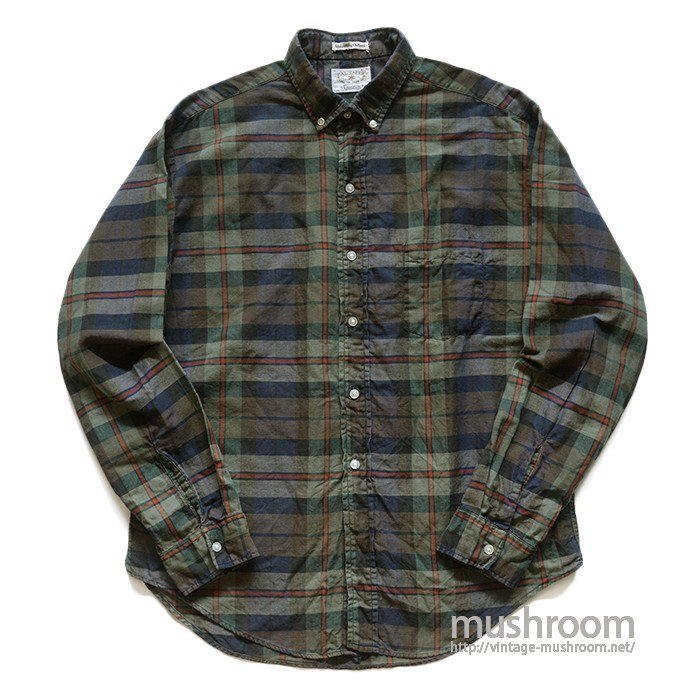 CAMPUS PLAID  COTTON L/S BD SHIRT