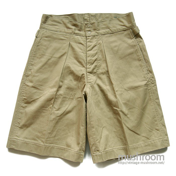 U.S.NAVY  CHINO SHORTS( W33/MINT )