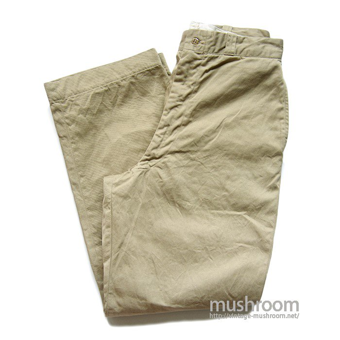 U.S.ARMY CHINO TROUSER( 33-31/ONE-WASHED )