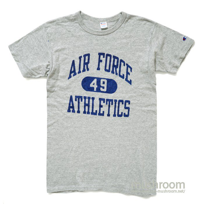 CHAMPION AIR FORCE ATHLETIC TEE( M/MINT )