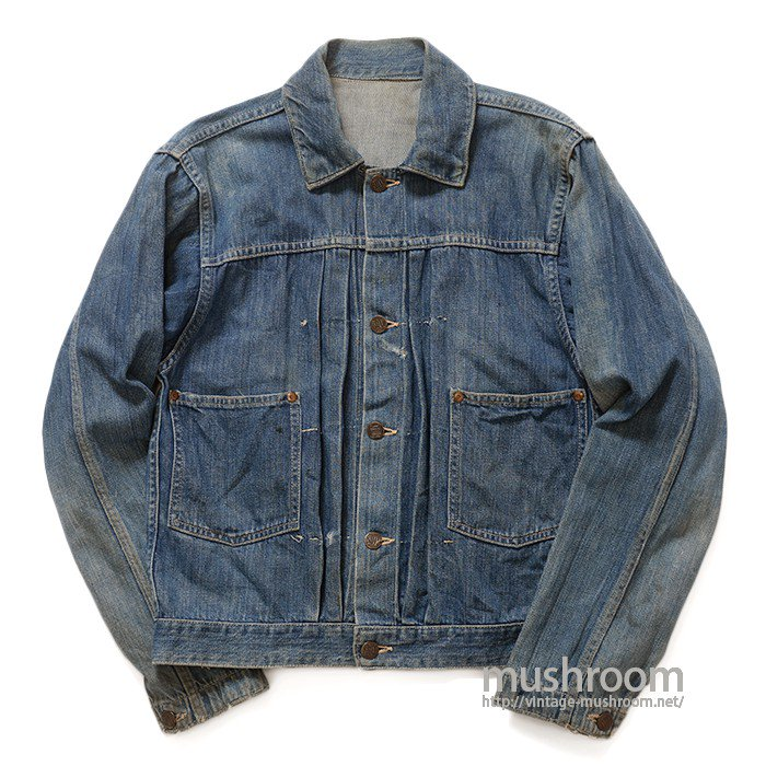 BAYLY TWO-POCKET DENIM JACKET