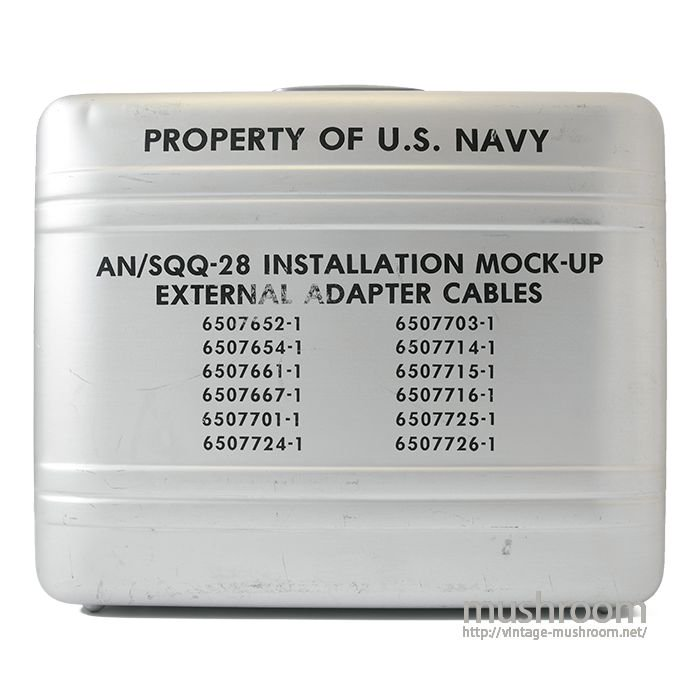 ZERO BRIEF CASE ( PROPERTY OF U.S.NAVY )