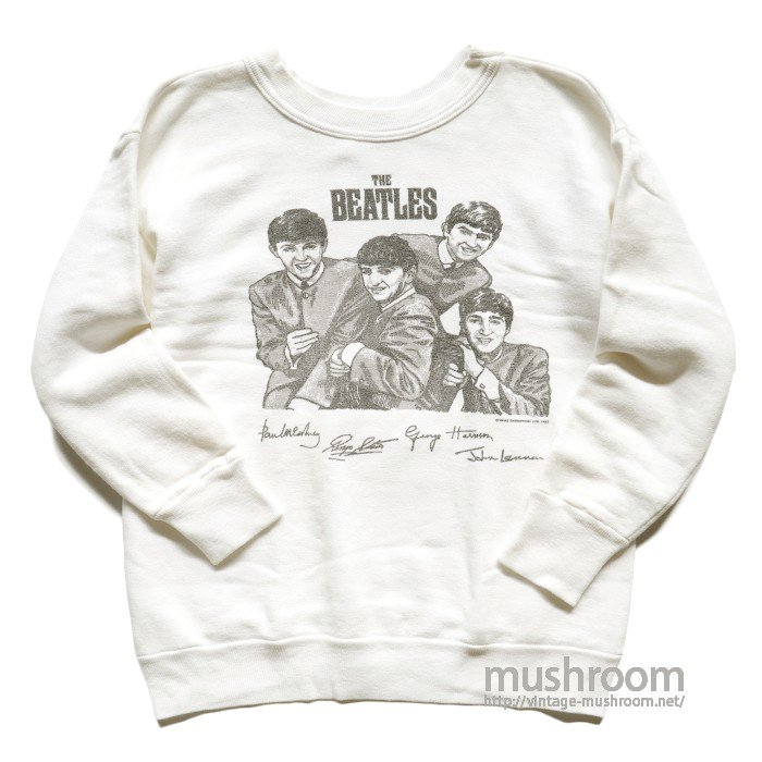 BEATLES PRINT SWEAT SHIRT